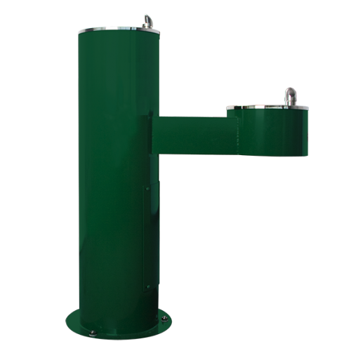 Two Station Stainless Steel Outdoor Drinking Fountain (WODF-2-CHD)