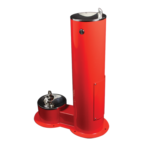 Stainless Steel Outdoor Drinking Fountain (WODF-2-PET)