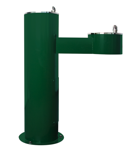 Stainless Steel ADA-Compliant Two-Station Outdoor Water Fountain (WODF-2-HC)
